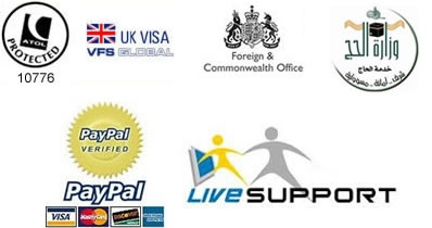 British Hajj & Umrah Services Accreditations